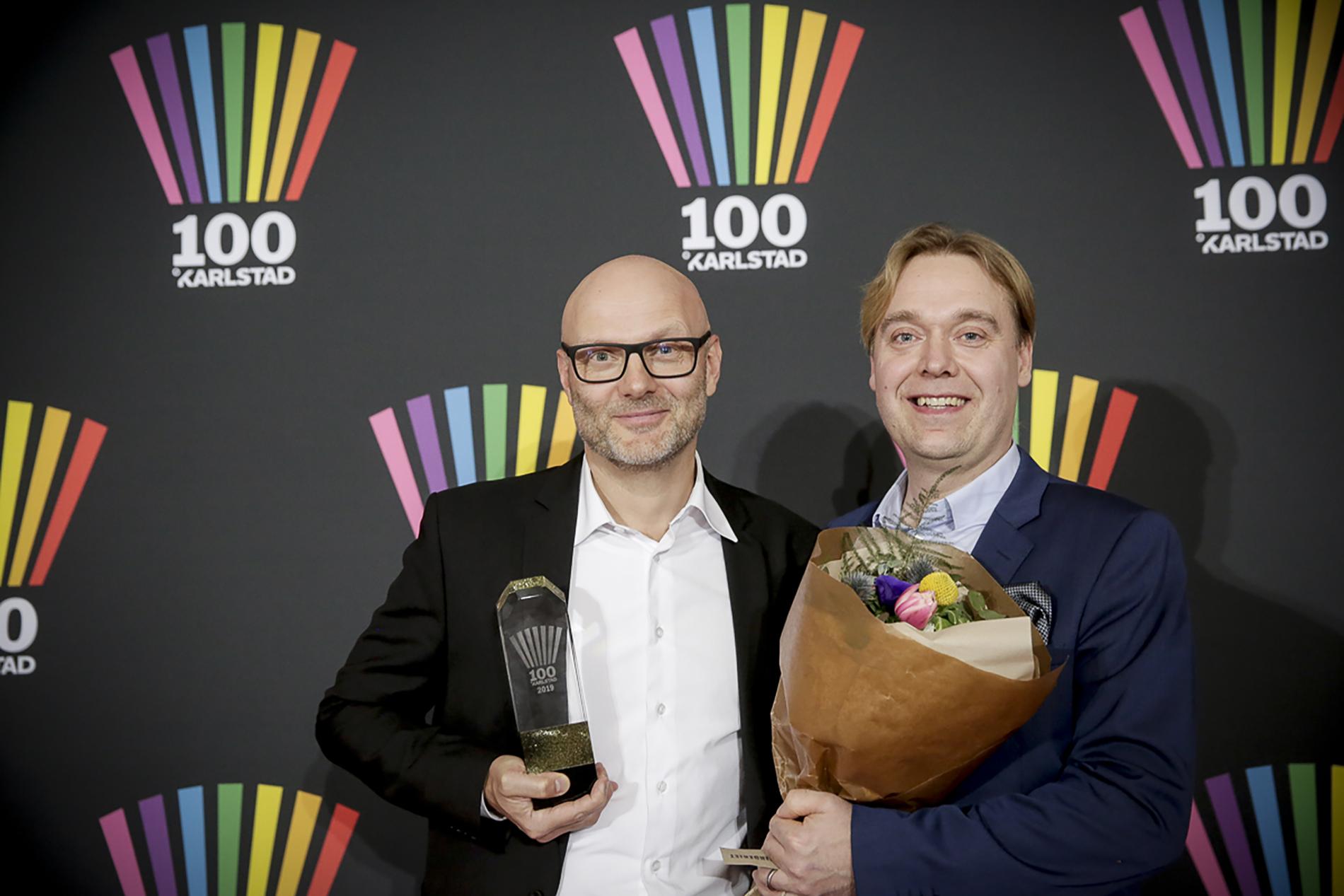 Niklas Hellberg och Oskar Godberg.