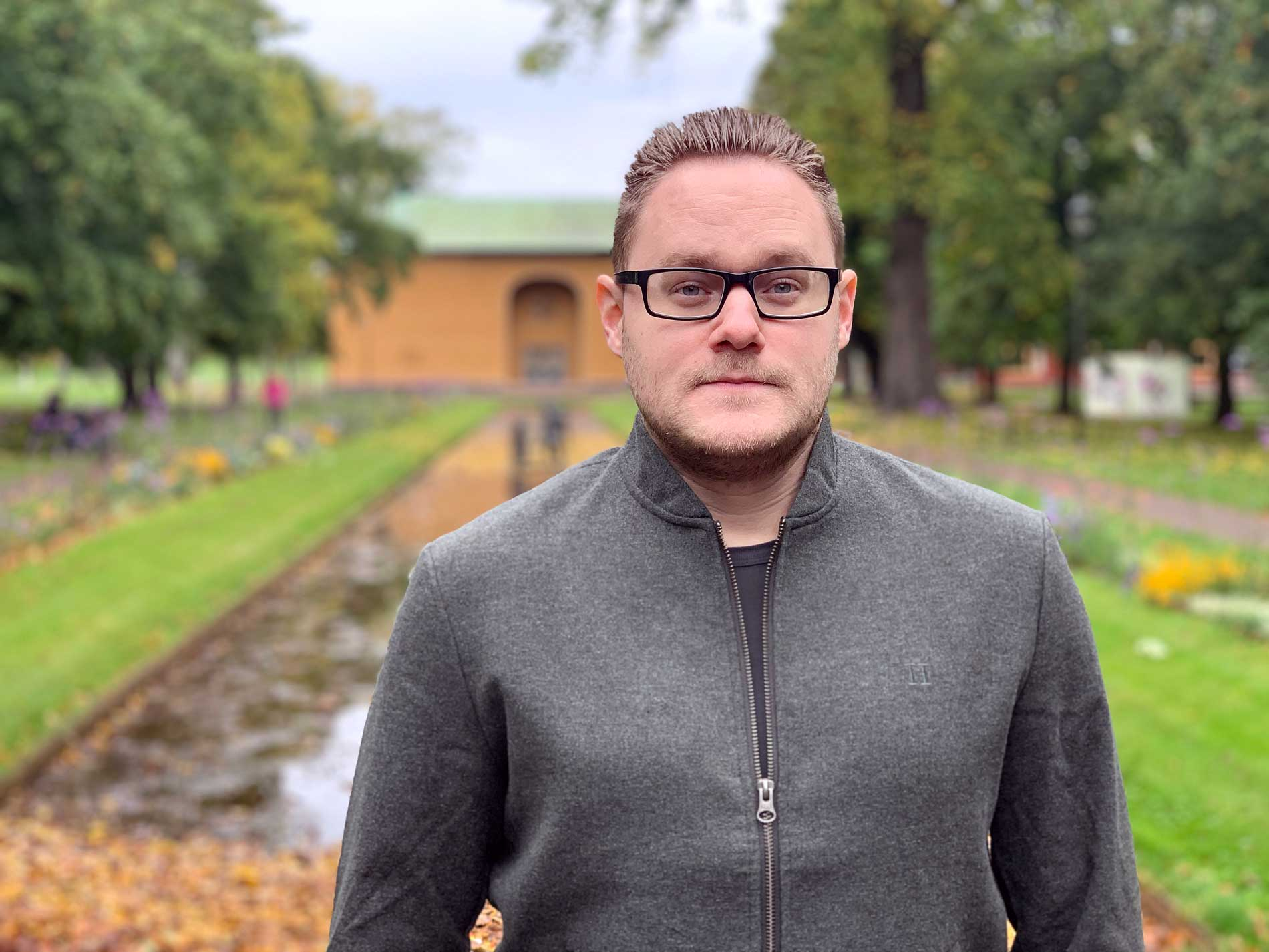Andreas Eriksson - ny i CloudPros IT-support